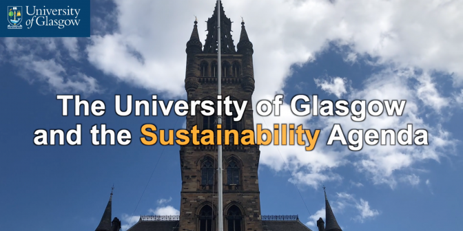 University of Glasgow declaration of a climate emergency May 2019